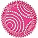 Wilton Wilton ColorCups Pink Circle Dots Standard Baking Cups, 36 Count