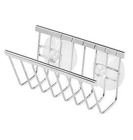 Interdesign Interdesign 84302 ''Sinkworks'' Suction Soap & Sponge Holder - Stainless Steel
