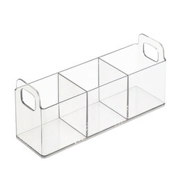 Interdesign CLARITY VANITY CATCH 9X3X4
