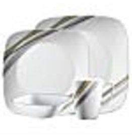 Corelle CORELLE SET SQUARE, MURET Service For 4