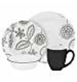 Corelle CORELLE SET VIVE, REMINISCE Service For 4