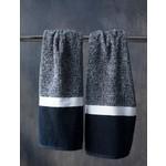Black N White Hand Towel