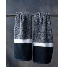 Black N White Hand Towel