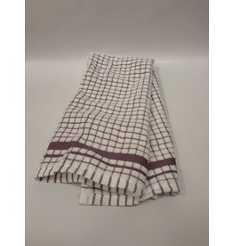 Purple Checkered Dish Towel