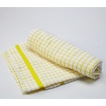 Yellow Checkered Dish Towel