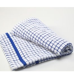 Blue Checkered Dish Towel