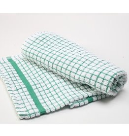 Green Checkered Dish Towel