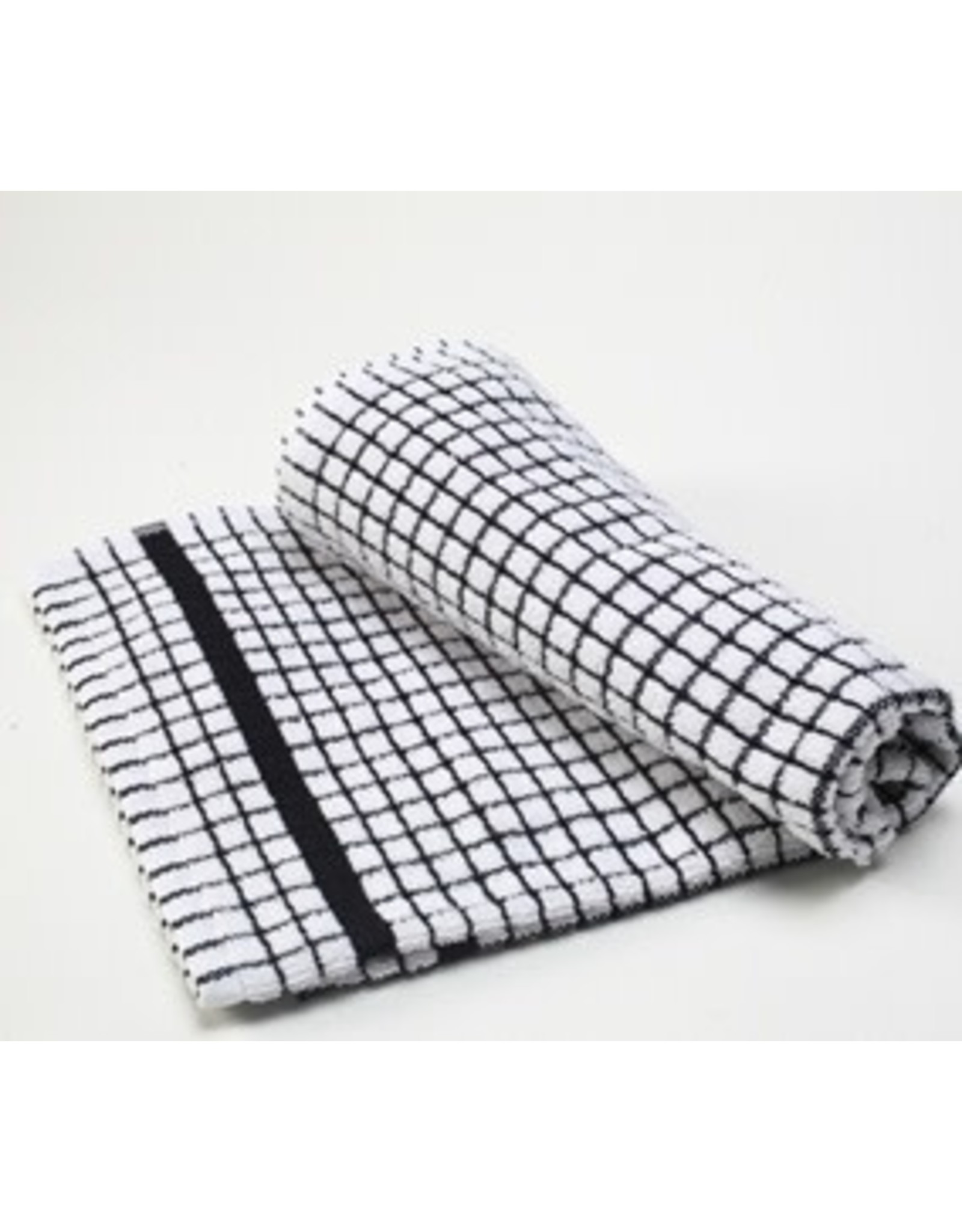 Black Checkered Dish Towel