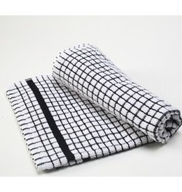 Black Checkered Dish Towel