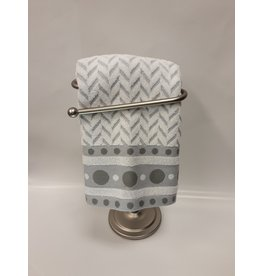 Dotty Grey/White Dish Towel