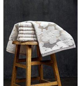 Blossom White Hand Towel