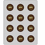 Tefillin Round Chocolate Mold