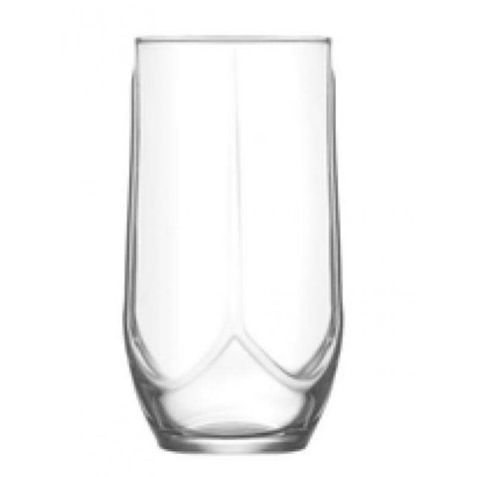 AZN25  13.75 OZ Drinking Glass,Pack of 6