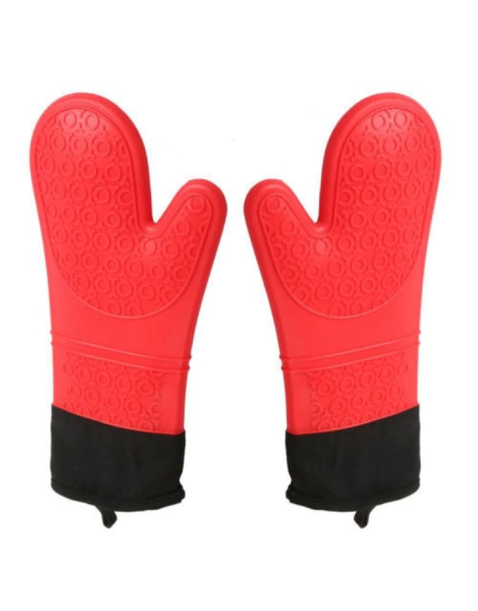Cool Touch - Silicone Oven Mitt - 13 in, Red, CP,12