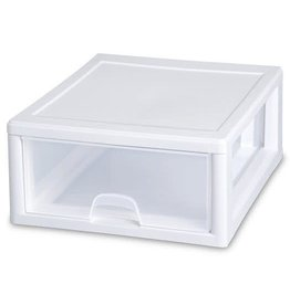 DRAWER-16qt-WHITE-FRAMED
