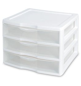 "DRAWERS-3/14-1/2"" WIDE CLEARVIEW"