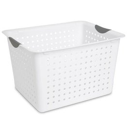 BASKET-ULTRA-16L X13W X10H WHITE