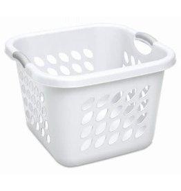 Laundry Basket-SQ 1.5 Bushel White