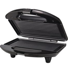 PANINI MAKER,NON STICK-BLACK/S.S.