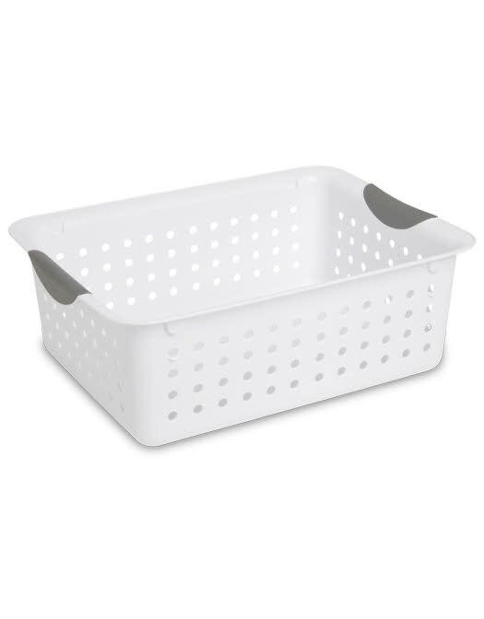 Basket-Ultra-13L x10w x5h White