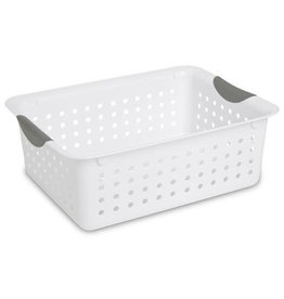 Basket-Ultra-13L x10w x5h White