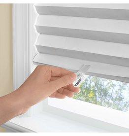 WINDOW SHADE-PLEATED-36x75-WHT-123