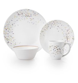 Corelle Autumn Dance service for 4