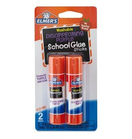 Elmers 2 Pck School Glue Sticks