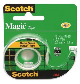 "Scotch Magic Tape 1/2""x450"" (12.5 YD)"