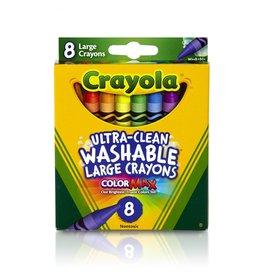 Crayola 8 Large Crayons