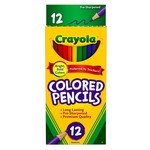 12 Pck Crayloa Color Pencils