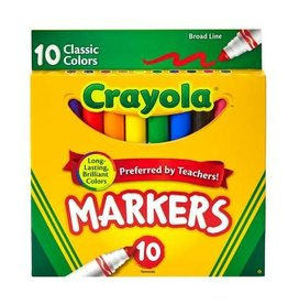 Crayloa 10 Classic Markers