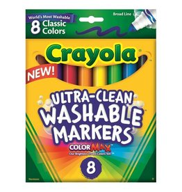Crayola Broad Line 8 Washable Markers