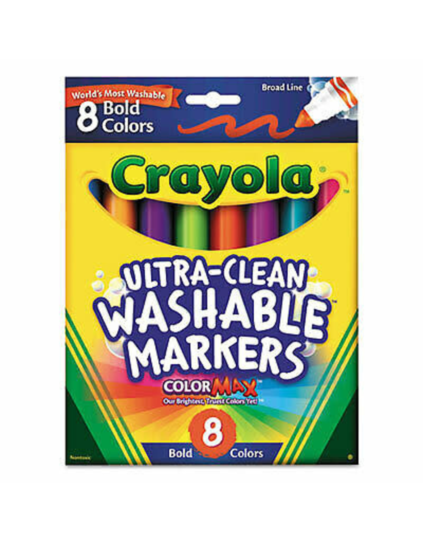 8 Pack Bold Color Markers