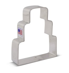 "3.75"" Wedding Cake Cookie Cutter"