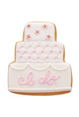 "3.75"" Wedding Cake Cookie Cutter"