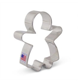 "3.75"" Gingerbread Girl Cookie Cutter"