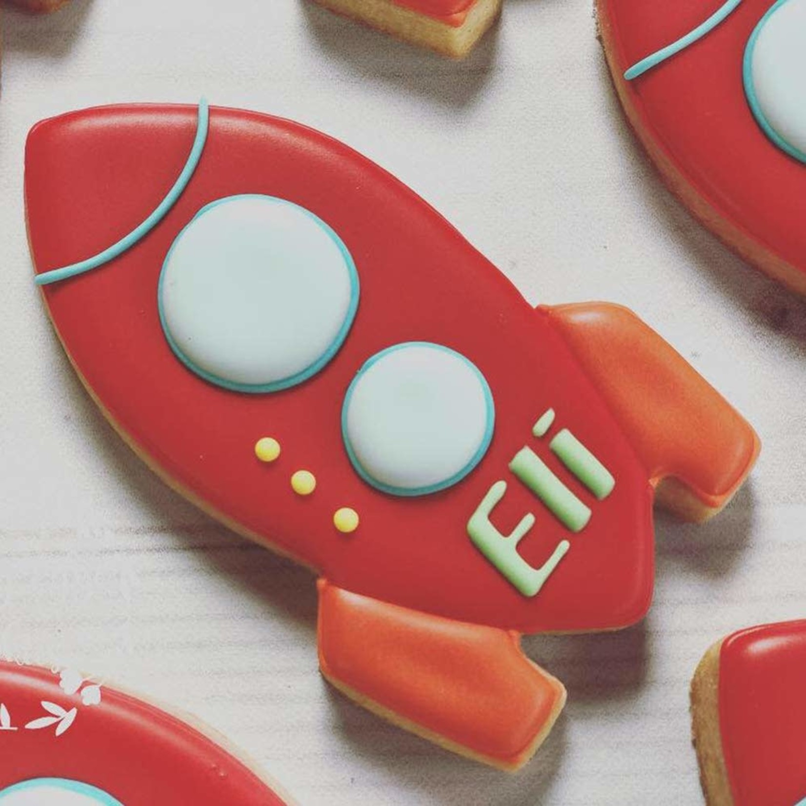 "4"" Rocket Cookie Cutter"