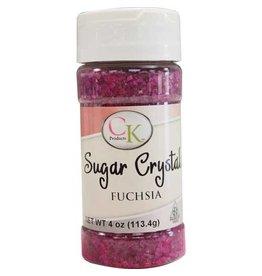 CK Fuchsia Sugar Crystals