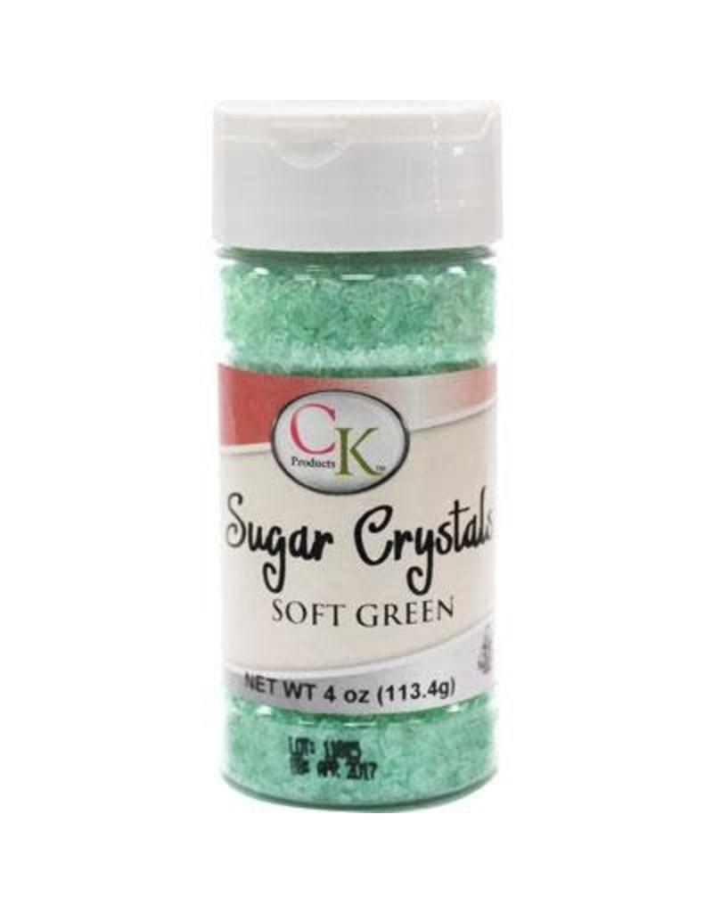CK Soft Green Sugar Crystals