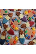 "3.75"" Paint Palette Cookie Cutter"