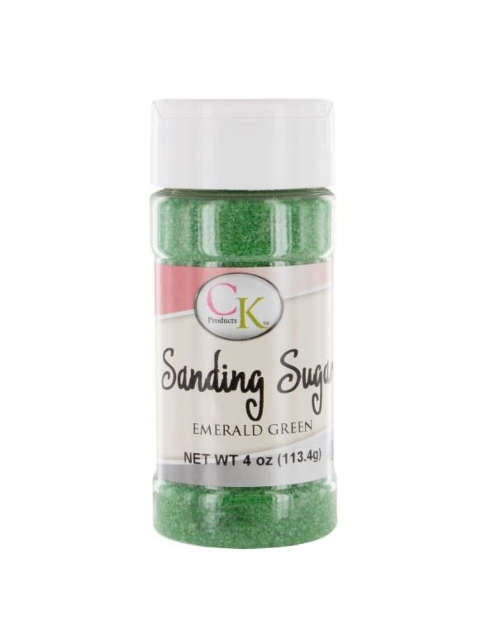 CK Emerald Green Sanding Sugar