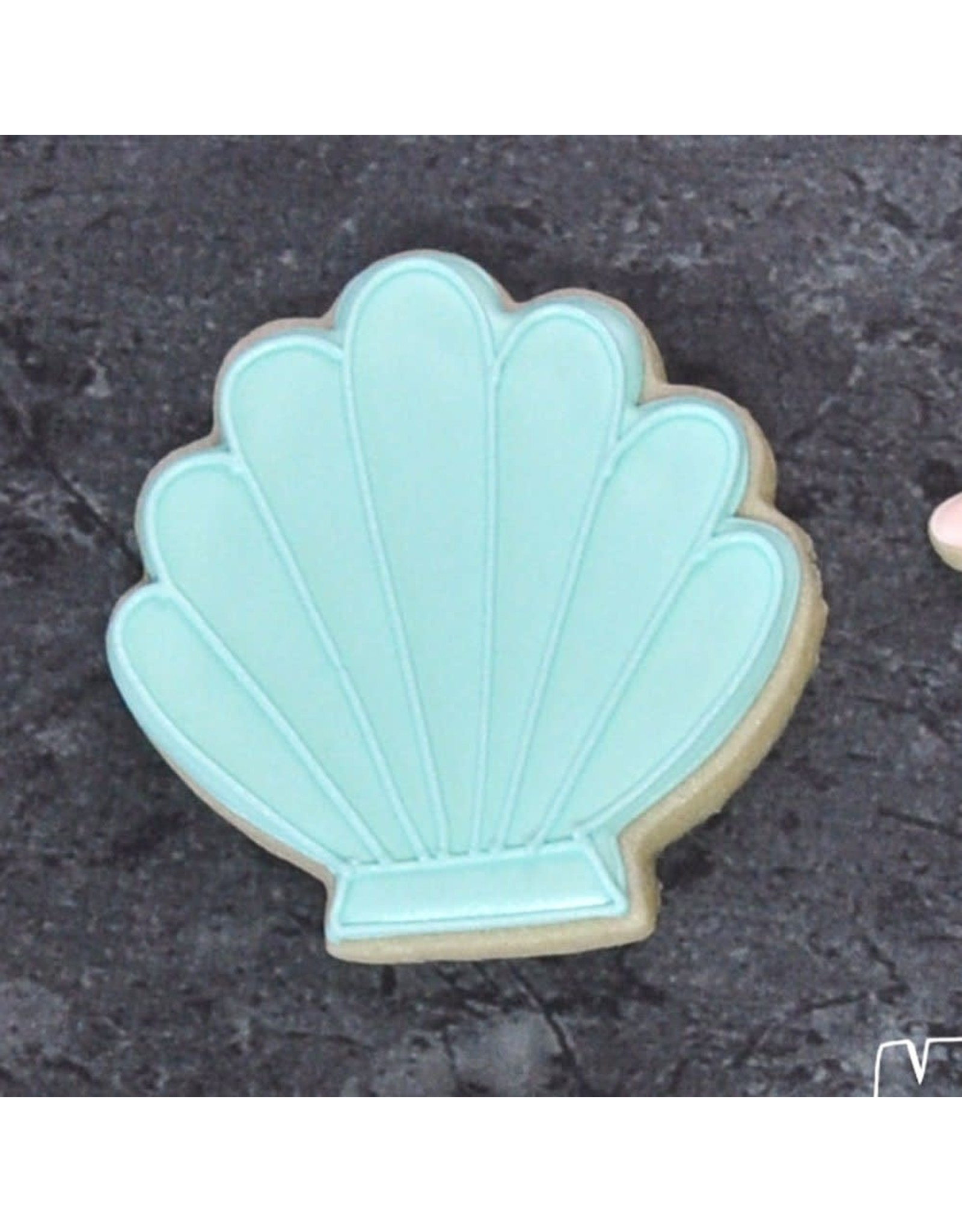 """3.25"""" Seashell Cookie Cutter"""