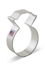 Ann Clark 3.75'' Diamond Ring Cookie Cutter