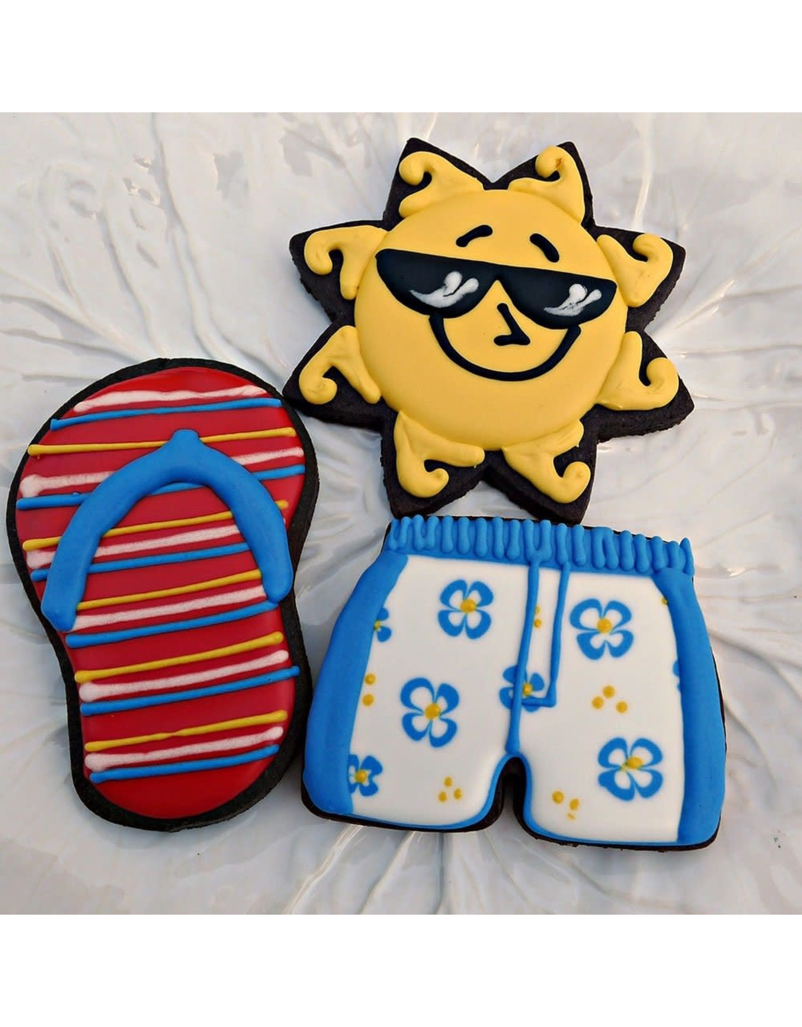 """3.25"""" Bathing Suit Trunk Cookie Cutter"""
