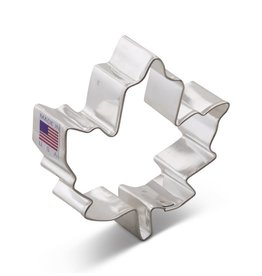 "3"" Maple Leaf Cookie Cutter"