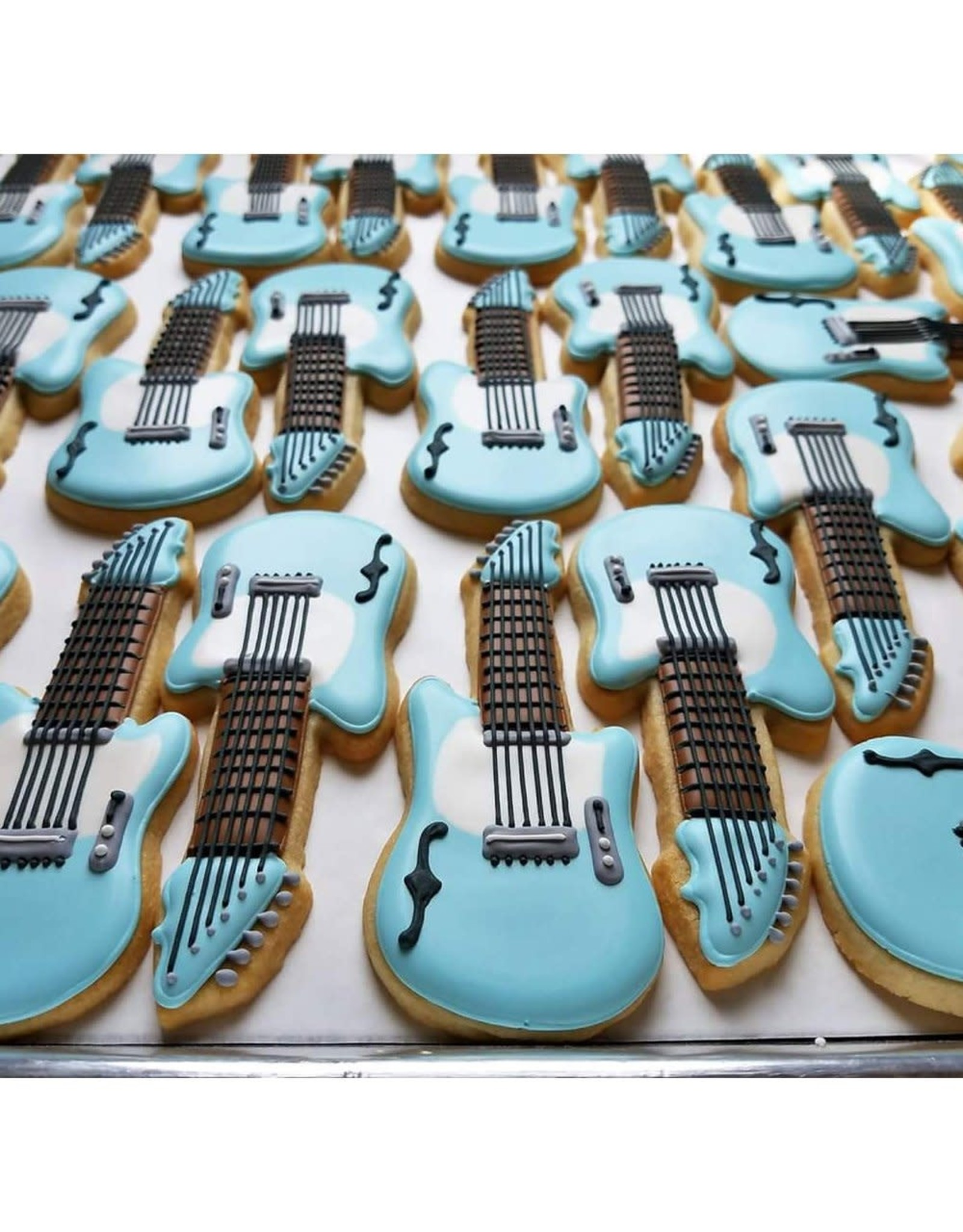 "5.25"" Electric Guitar Cookie Cutter"