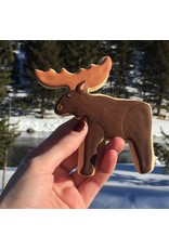 "4.3"" Moose Cookie Cutter"