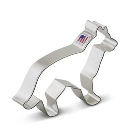 "5"" German Shepherd Cookie Cutter"