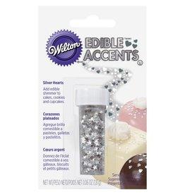 Wilton Silver Stars Edible Glitter by Wilton
